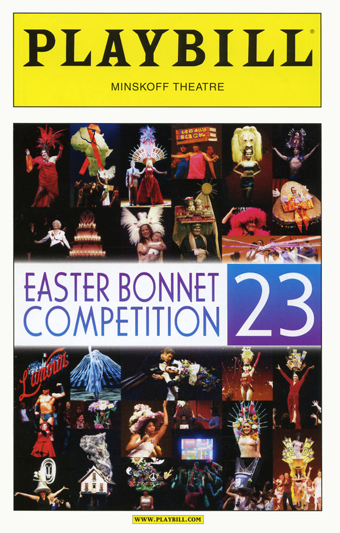 BROADWAY CARES EASTER BONNET COMPETITION