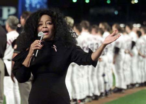 Diana Ross Mets Sep 11 2001