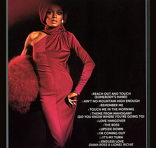Diana Ross Idol backcover