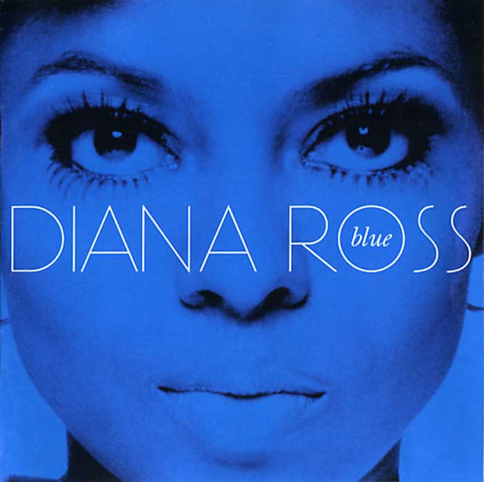Diana Ross Blue