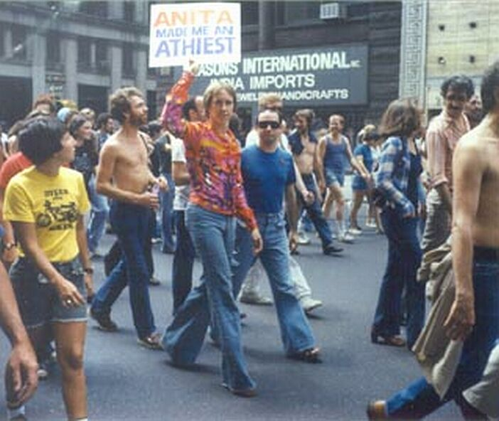 Gay Pride Parade 1977
